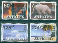 Antilles néerlandaises - Réchauffement global - Série neuve 4v