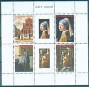 Antilles néerlandaises - Art J. Wermeer - Bloc-feuillet neuf