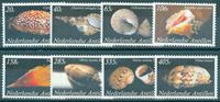 Antilles néerlandaises - Coquillages 2008 - Série neuve 8v
