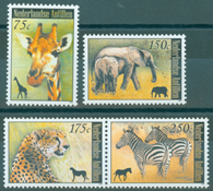 Nederlandske Antiller - Vilde dyr - Postfrisk sæt 4v