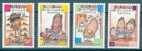 Antilles néerlandaises - L'année de la pomme de terre 2008 - Série neuve 4v