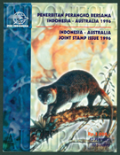 Indonesia - Joint issues Indonesia/Australia, booklet - Mint booklet