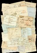 10 lettres avec Marque postale