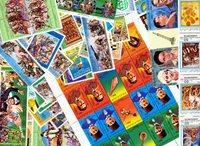 利比亚54张不同邮票