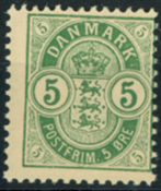 Denmark - AFA no. 34B - Mint