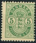Danmark - AFA nr. 34B - Postfrisk