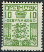 Denmark - AFA no. 2 - Mint