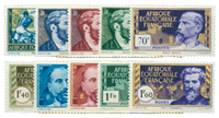 French Equatorial Africa - YT 77/86