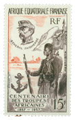 French Equatorial Africa - YT PA62