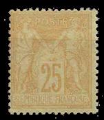 France 1876 - YT 92 - Neuf avec charnière