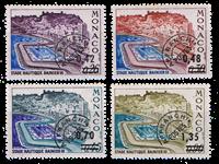 Monaco préoblitéré YT 34-37