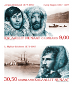 Greenland - Expedition XII - Mint set 2v