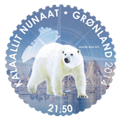 Greenland - Pole-to-Pole - Mint stamp