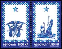 Færøerne - Jul 2014 - Postfrisk sæt 2v