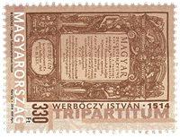 Hongrie - Tripartitum - Timbre neuf