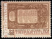Ungarn - Tripartitum - Postfrisk frimærke