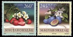 Hongrie - Fruits - Série neuve 2v