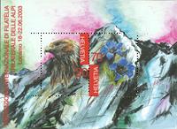 Schweiz - Frimærkeudstilling - Postfrisk miniark