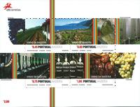 Madère - Vin de Madeire - Bloc-feuillet neuf