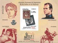 Spanien - Exfilna 2010 - Postfrisk miniark