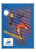 Frankrijk - 1 official postal stationery from the World Cup in football