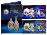 Ungarn - Sevso Sølvskatten - Postfrisk souvenirmappe med utakket og nummereret miniark (rødt nummer)