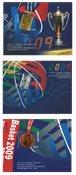 Grækenland - Medaljetagere - Postfrisk sæt miniark 3v