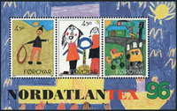Færøerne - AFA 292- 94 - Postfrisk miniark