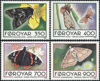 Færøerne - AFA nr. 244- 47 - komplet