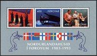 Færøerne - AFA 235-237 - Miniark