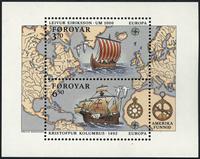 Færøerne - AFA 225a-26a - Postfrisk miniark