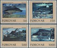 Færøerne - AFA 201- 04 - komplet