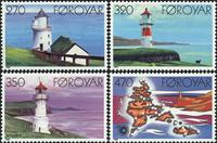 Færøerne - AFA 115-18 - Postfrisk komplet