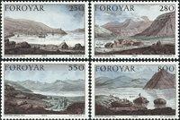 Færøerne AFA 106-09 - Postfrisk sæt