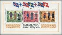 Færøerne - AFA 84-86 - Postfrisk miniark