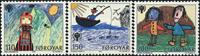 Færøerne  AFA 39-41 - komplet