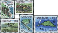 Faroe Islands - AFA 25-29 - complete