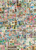 Worldwide giant collection - 15 500 different stamps