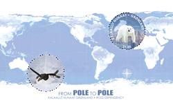 Groenland - De polo a polo - Timbre neuf