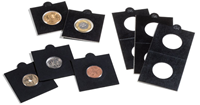 Etuis carton MATRIX, noir, diamètre intérieur 17,5  mm, autocollants, paquet