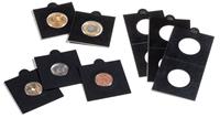 Etuis carton MATRIX, noir, diamètre intérieur 25 mm, autocollants, paquet d