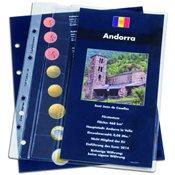 feuille complémentaire *Andorre* pour l'album pour  les jeux d'EUROS