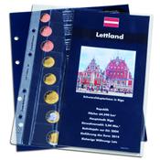 feuille complémentaire *Lettonie*, pour l'album pour les jeux d'EUROS