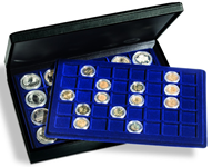 Presentation case PRESIDIO TAB for 128 coins/capsules, incl. 4 trays L-sized