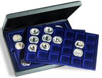 Møntkassette PRESIDO 60 mønter eller møntkapsler 48 mm - Leuchtturm