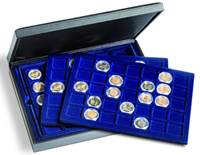 PRESIDIO Per 105 monete o capsule portamonete fino  a 35 mm di Ø - Leuchtturm