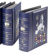 VISTA album euros millésimes 2015, avec étui de protection, bleu