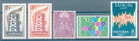 Europa CEPT - samling - 1956-73