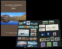 冰岛新邮, 2014年新邮年折