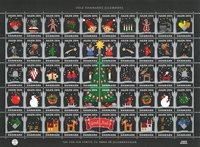 Dinamarca - Navidad 2014 - Sello nuevo